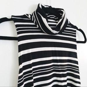BB Dakota Tops - striped turtle neck top